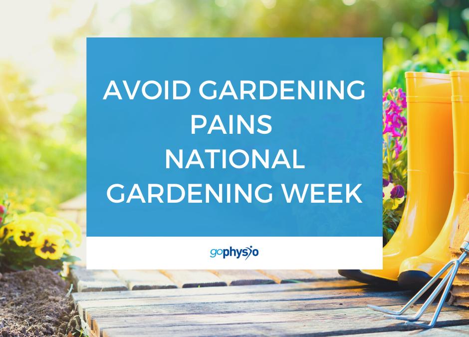 Avoid Gardening Pains