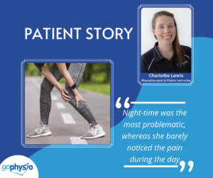 Calf pain patient story