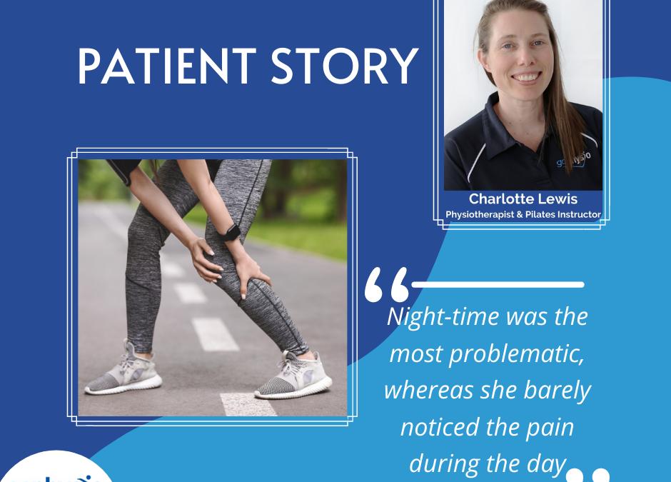 Patient Story: Calf pain