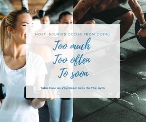 back to the gym blog image