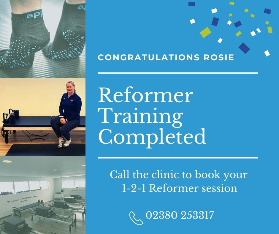Rosie Castle Reformer Pilates goPhysio