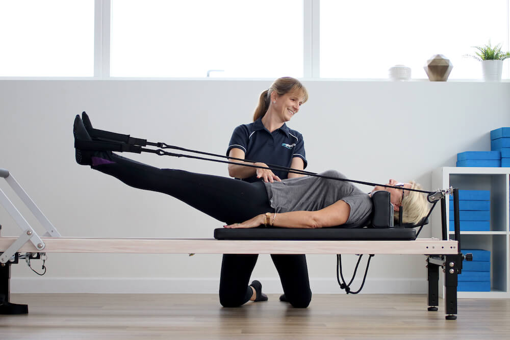 Exercise class for back pain sufferers