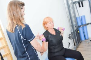 Rehab weight lifts goPhysio Eastleigh