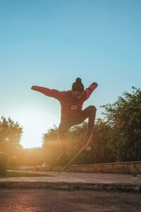 stock image skater