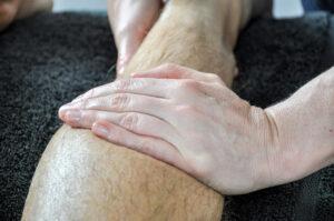 GoPhysio leg massage chandler's ford