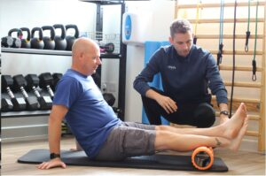 Foam roller rehab