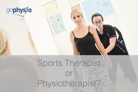 Physiotherapist or Sports Therapist?