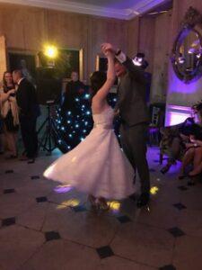 kim wedding dance