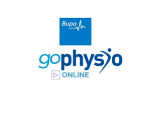 Bupa goPhysio online