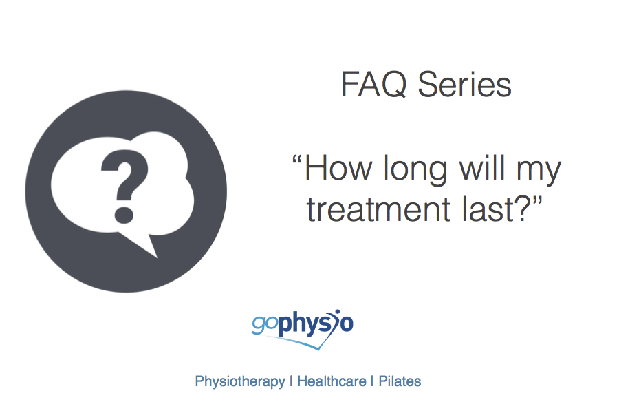 goPhysio FAQs: How long will my treatment last?