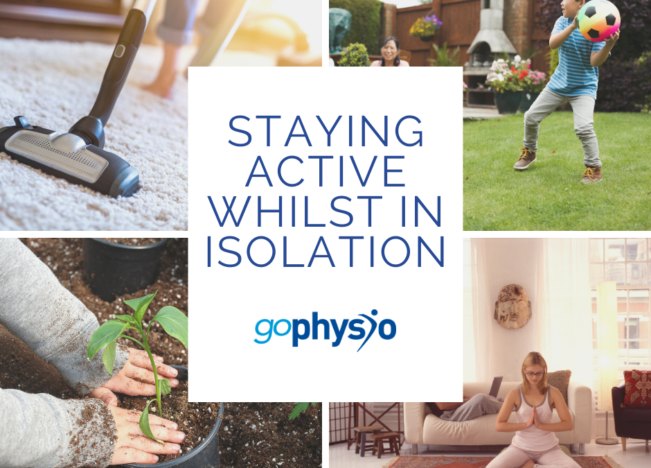 Staying Active During Isolation