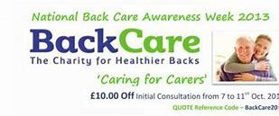 BackCare Awareness Week 2016