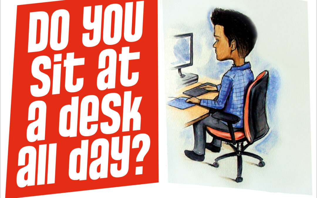 Active Working Tips – Easy Desk Exercises!