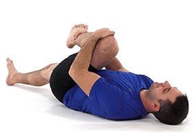 gluteus stretch gophysio exercise