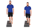 lateral step downs gophysio slopes prep exercise