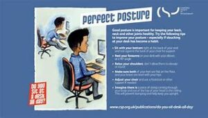 perfect posture desk exercises active working