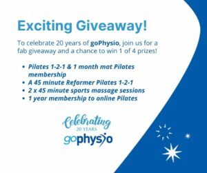 July 2021 goPhysio Giveaway