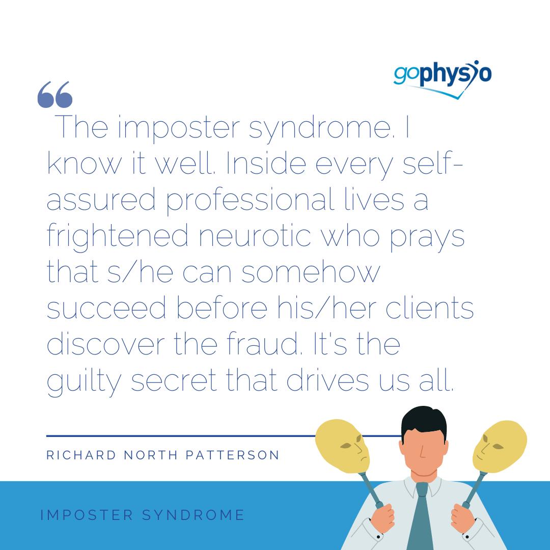 goPhysio Imposter Syndrome blog
